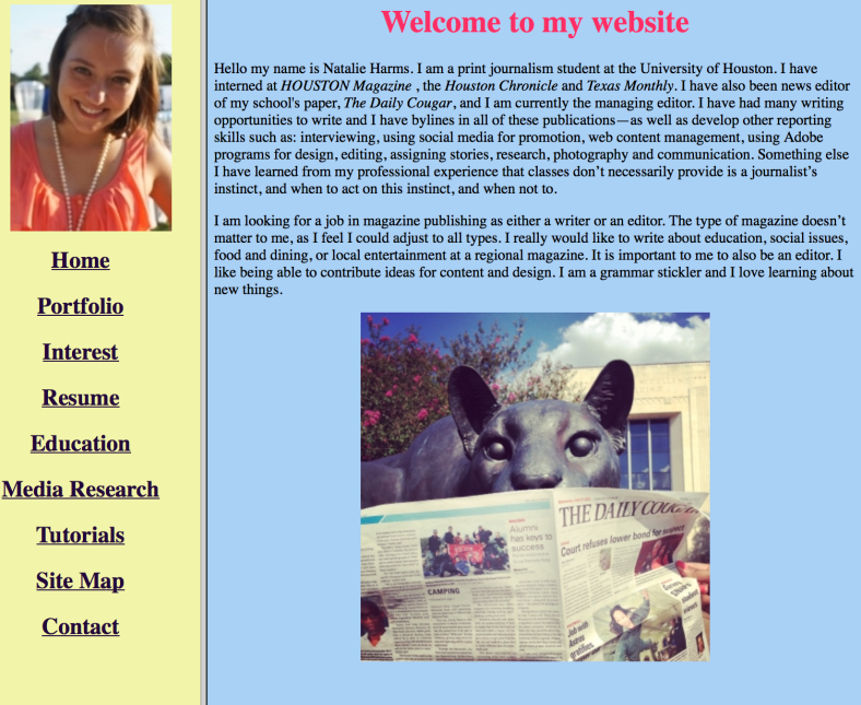 My Website (HTML)